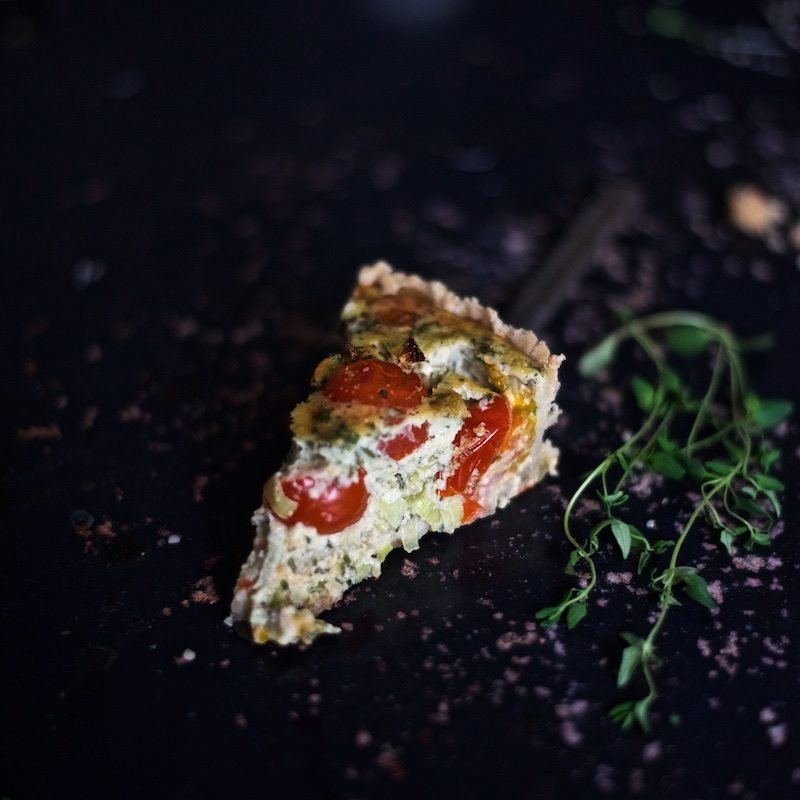 Italian Vegetable Pie (glutenfree) by Yellow Mood Kitchen